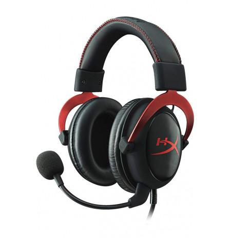 HyperX Cloud II Red juhtmega kõrvaklapid 7.1 | USB/3,5 mm