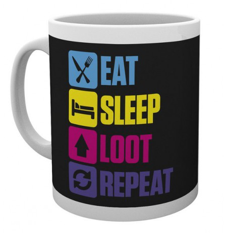BATTLE ROYALE Eat Sleep Repeat tass