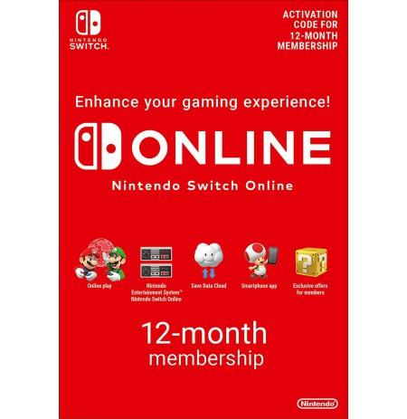 Nintendo Switch ONLINE 12-kuuline liikmelisus