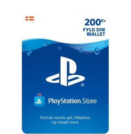 Playstation Network Card 200 DKK (Taani)