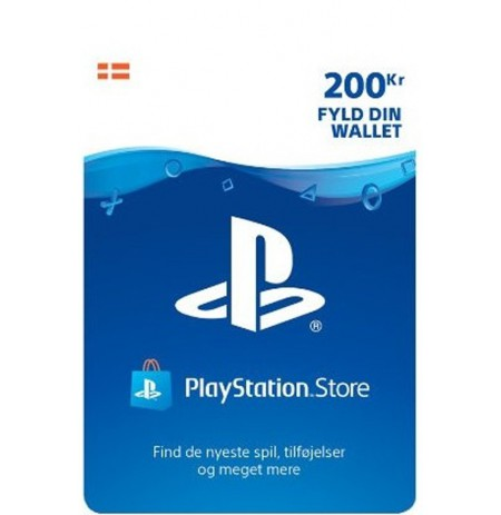 Playstation Network Card 200 DKK (Denmark)