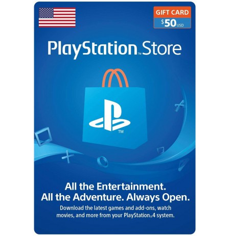 Playstation Network Card 50 USD (JAV)