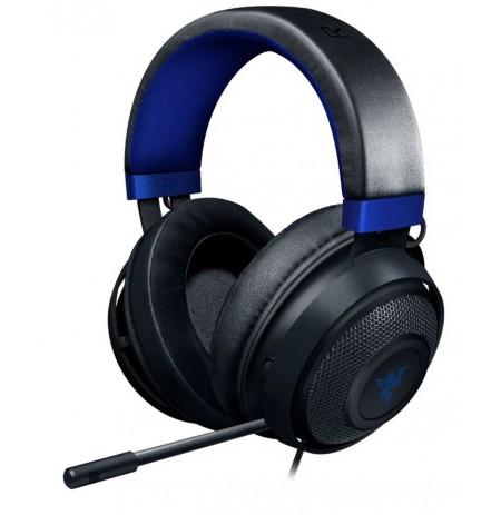 RAZER KRAKEN for Console must-sinised juhtmega kõrvaklapid koos  mikrofoniga | 3,5 mm