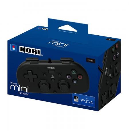 HORI juhtmega mini - PlayStation 4 mängupult lastele (must)