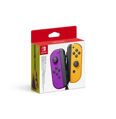 Nintendo Switch Joy-Con Pair Neon Purple / Neon Orange