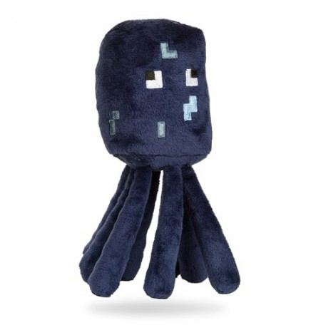 Plüüsist mänguasi Minecraft Squid | 12-17cm