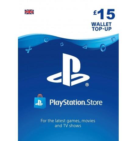 Playstation Network Card 15 GBP (United Kingdom)