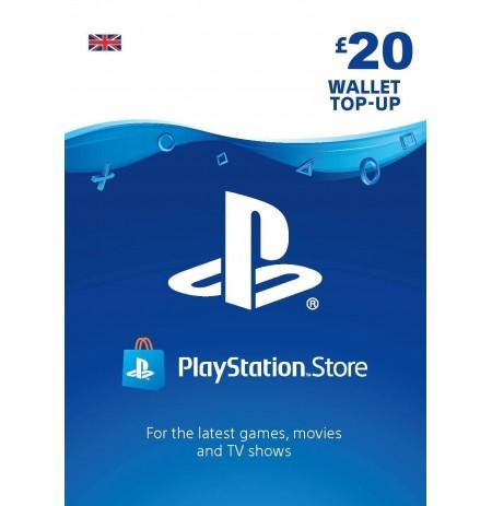 Playstation Network Card 20 GBP (United Kingdom)
