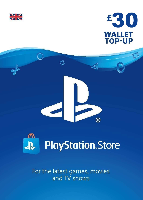 Playstation Network Card 30 GBP (Suurbritannia)