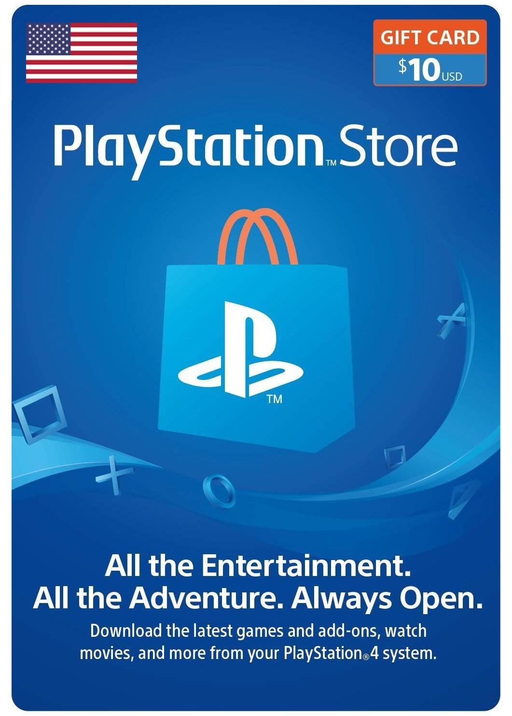 Playstation Network Card 10 USD (JAV)