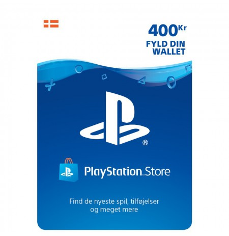 Playstation Network Card 400 DKK (Denmark)