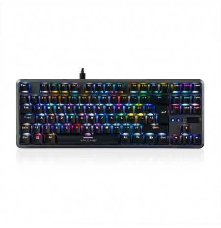 MODECOM VOLCANO LANPARTY V2 RGB mänguri klaviatuur BROWN US