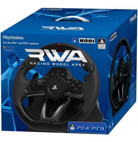 HORI RWA Racing Wheel Apex rool Licensed by Sony   PS3/PS4/PC