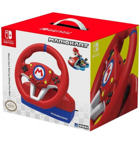 HORI Mario Kart Racing Wheel Pro Mini rool Nintendo Switch'ile