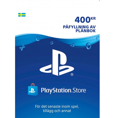 Playstation Network Card 400 SEK (Rootsi)
