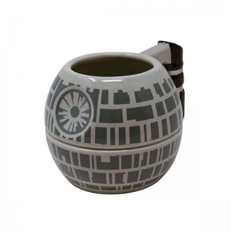 Star Wars (Death Star) Sculpted 3D tass