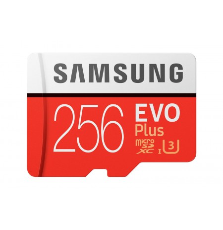 Mälukaart Samsung MicroSDXC Evo + 256GB