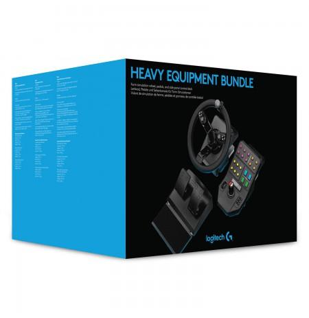 Logitech HEAVY EQUIPMENT BUNDLE rool (PS4/PC)