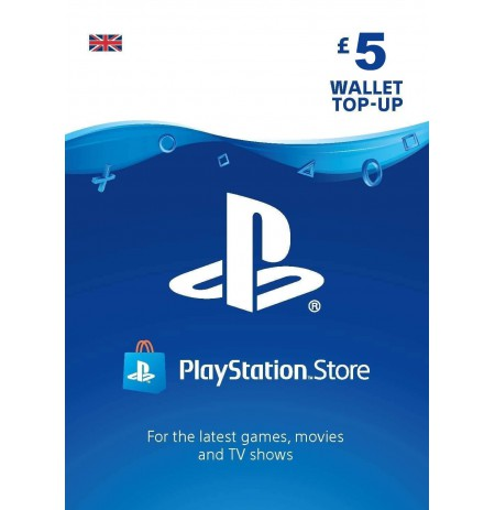Playstation Network Card 5 GBP (United Kingdom)