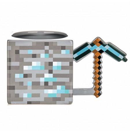 Minecraft Pickaxe 3D tass
