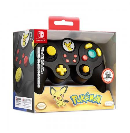 PDP Fight Pad Pro - Pichu juhtmega mängupult Nintendo Switchile