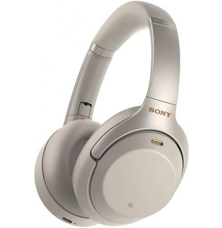 Sony WH-1000XM3 juhtmevabad mürasummutavad kõrvaklapid (hõbedased)