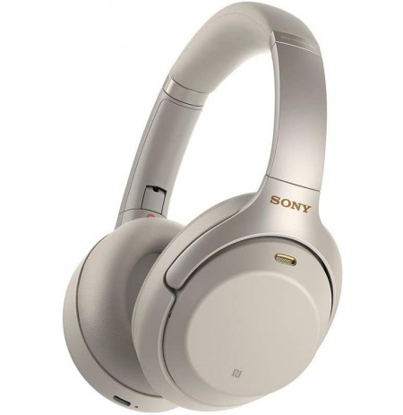 Sony WH-1000XM3 wireless noise-canceling headphones (silver)