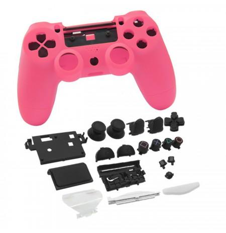 Dualshock 4 mängupuldi korpus ja nupud (roosa)