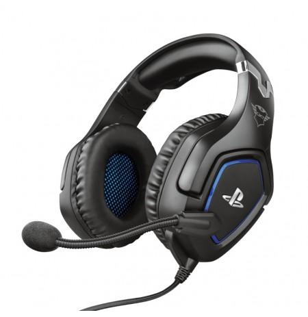 TRUST GXT 488 FORZE PS4 musta kaabliga 3,5 mm