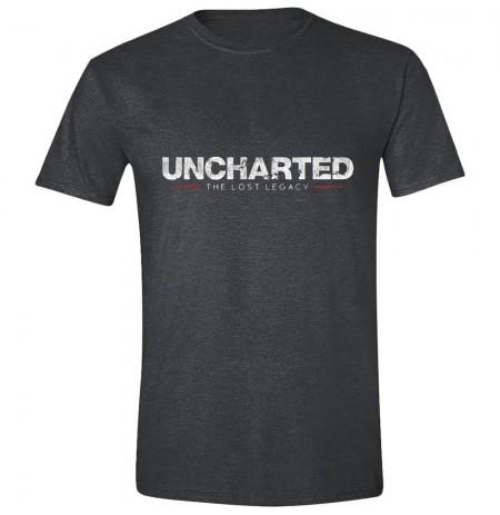 UNCHARTED - THE LOST LEGACY LOGO hall T-särk - suurus L
