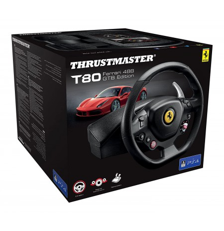 Thrustmaster T80 Ferrari 488 GTB Edition rool (PS3/PS4)