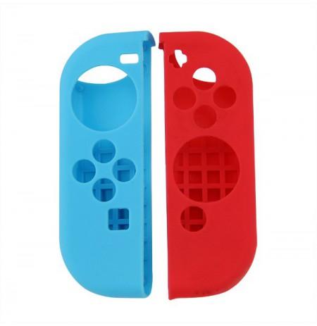 Nintendo Switch Joy-Con silikoonkaitse (punane + sinine)