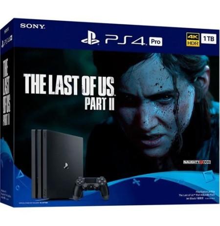 Mängukonsool SONY PlayStation 4 (PS4) PRO 1TB (must) + The Last of Us Part II Bundle