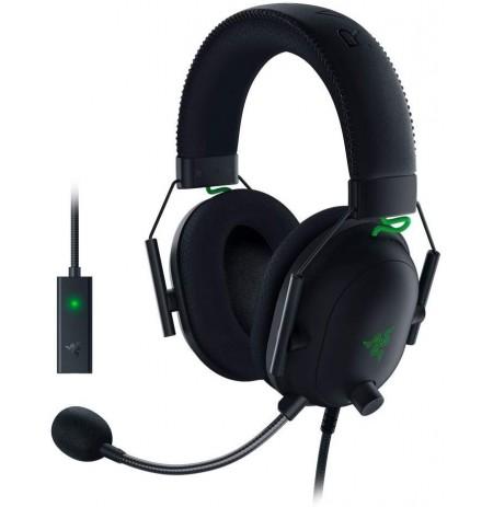 RAZER BlackShark V2 mustad juhtmega kõrvaklapid koos mikrofoniga