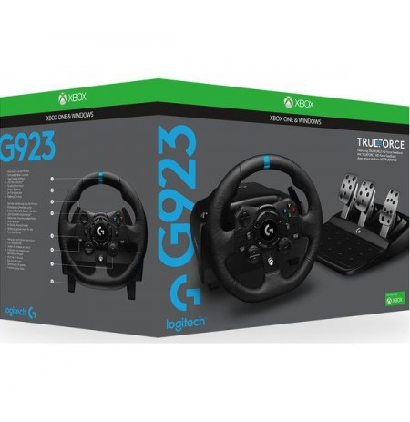 Logitech G923 TRUEFORCE SIM rool (XONE/XSX/PC)