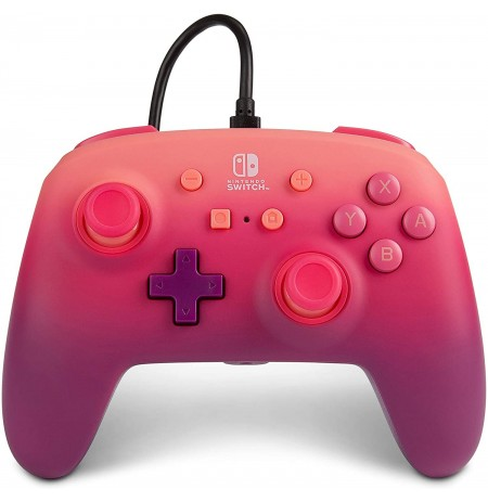 PowerA Fuchsia juhtmega mängupult Nintendo Switchile