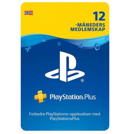 Playstation PLUS Card 365D (Norway)