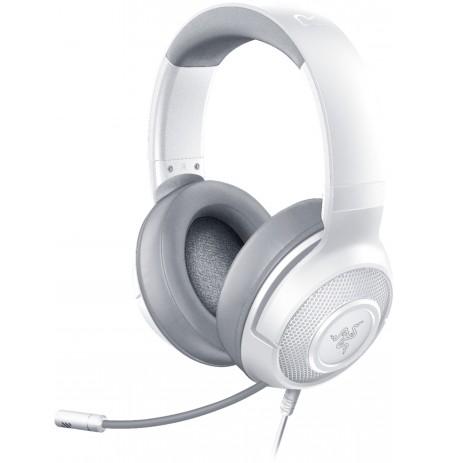 RAZER KRAKEN X MERCURY valged juhtmega kõrvaklapid koos mikrofoniga  l  3,5 mm