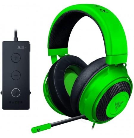 RAZER KRAKEN Tournament Edition rohelised juhtmega kõrvaklapid