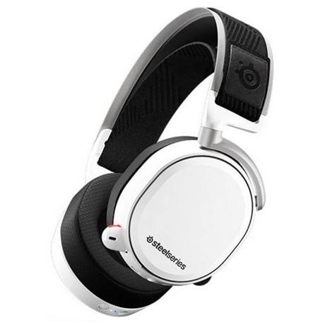 Steelseries Arctis Pro Wireless Valged juhtmevabad mänguri kõrvaklapid
