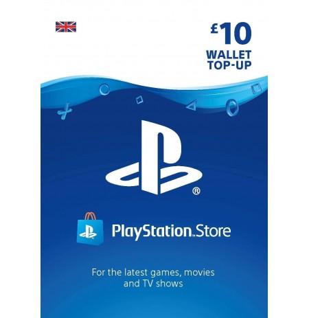 Playstation Network Card 10 GBP (Suurbritannia)