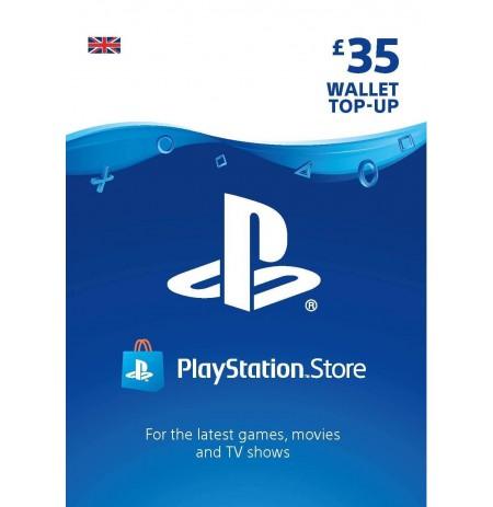 Playstation Network Card 35 GBP (Suurbritannia)