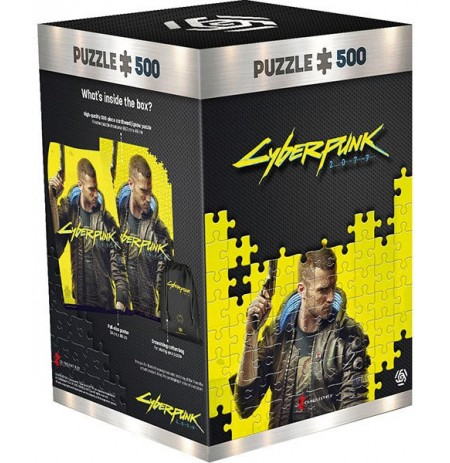 Cyberpunk 2077 : Keyart Male V pusle