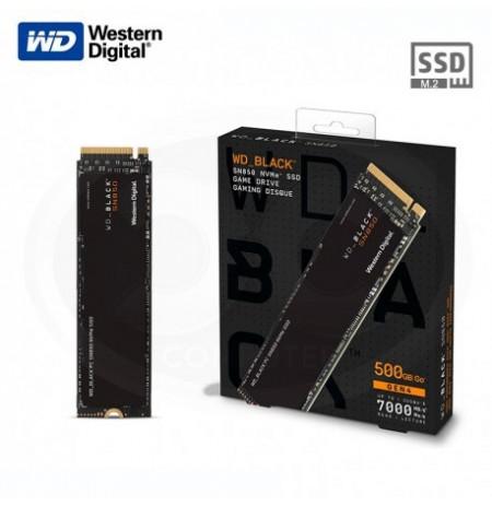 Western Digital WD_BLACK SN850 NVMe SSD PC/PS5 jaoks