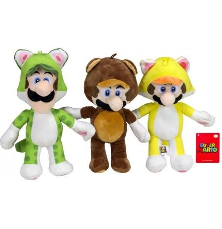 Mario Bross Power Suits Plüüsist mänguasi | 36cm