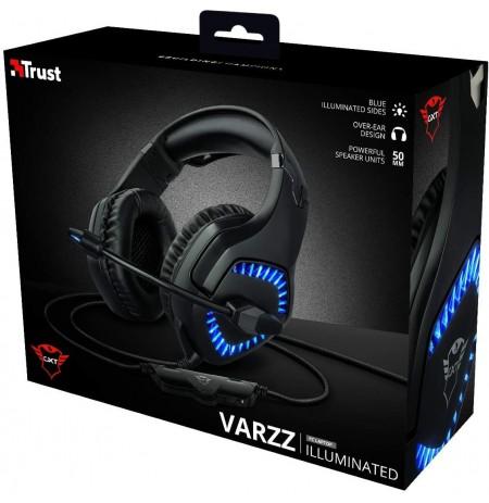TRUST GXT 460 Varzz valgustusega juhtmega kõrvaklapid