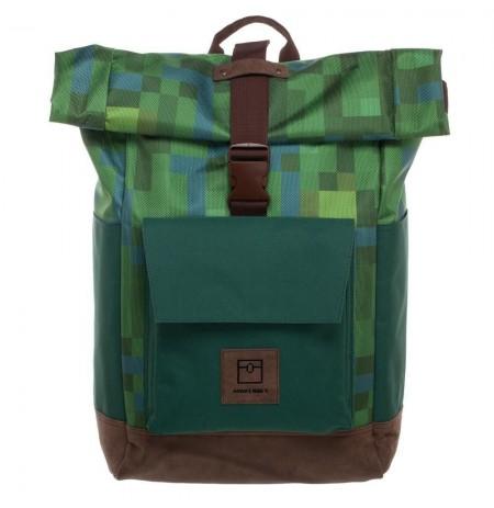 Minecraft Premium Explorer Rolltop Backpack