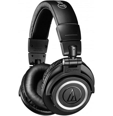 Audio Technica ATH-M50X juhtmevabad kõrvaklapid (Black) 3,5 mm
