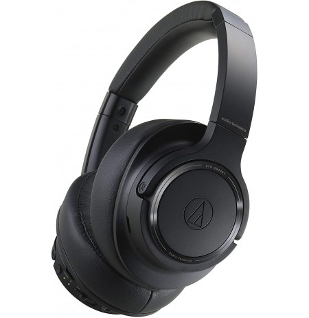 Audio Technica ATH-SR50BT wireless headphones (Black) | Bluetooth