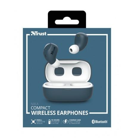 TRUST Nika sinine juhtmevabad kõrvaklapid (Bluetooth)
